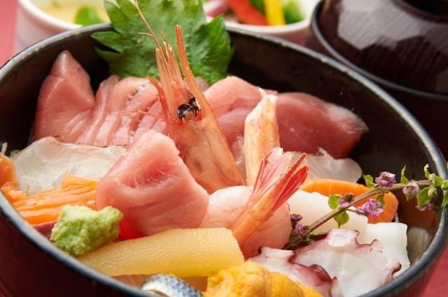 魚シーフード水分補給